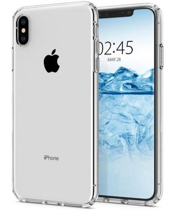 Spigen Liquid Crystal Apple iPhone XS Max Hoesje Crystal Clear Hoesjes