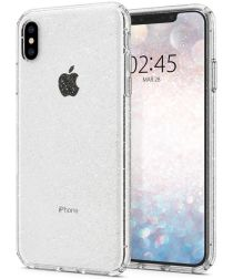 Spigen Liquid Crystal Apple iPhone XS Max Hoesje Glitter Quartz