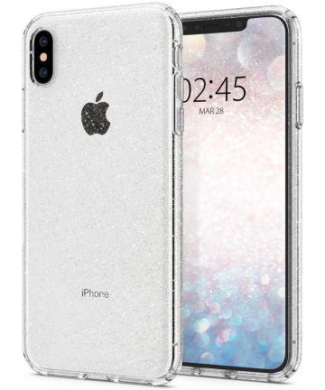 Spigen Liquid Crystal Apple iPhone XS Max Hoesje Glitter Quartz Hoesjes