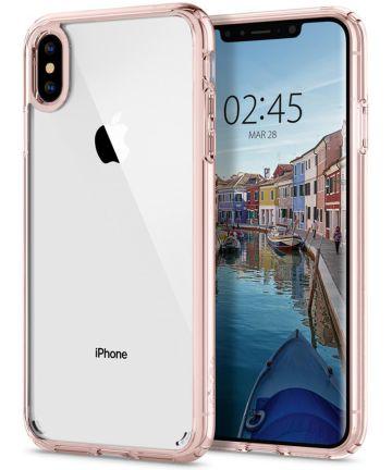 Spigen Ultra Hybrid Hoesje Apple iPhone XS Max Rose Crystal Hoesjes