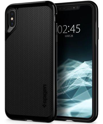 Spigen Neo Hybrid Hoesje Apple iPhone XS Max Jet Black
