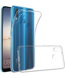 Huawei P Smart Plus Hoesje Dun TPU Transparant