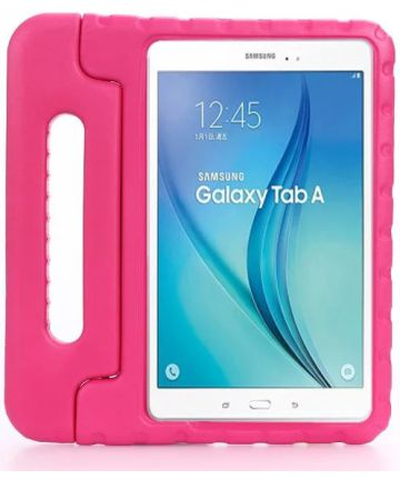 Samsung Galaxy Tab A 10.1 (2016) Kinder Tablethoes met Handvat Roze Hoesjes