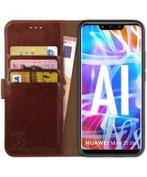 Rosso Element Huawei Mate 20 Lite Hoesje Book Cover Bruin