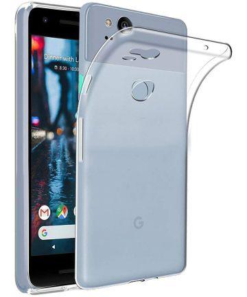Google Pixel 3 Hoesje Dun TPU Transparant Hoesjes
