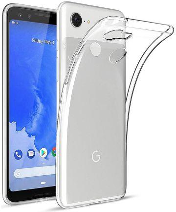 Google Pixel 3 XL Hoesje Dun TPU Transparant