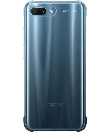 Honor 10 Originele Transparante Back Cover Blauw