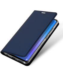Dux Ducis Premium Book Case Huawei P Smart Plus Hoesje Blauw