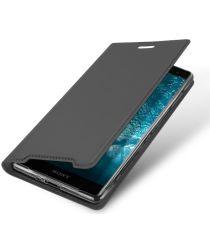 Dux Ducis Skin Pro Series Flip Hoesje Sony Xperia XZ3 Grijs