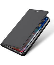 Dux Ducis Apple iPhone XS Max Premium Bookcase Hoesje Grijs