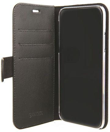 Valenta Classic Luxe Apple iPhone XS Max Booklet Hoesje Zwart