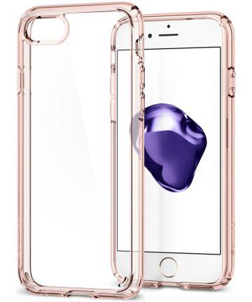 Spigen Ultra Hybrid 2 Case Apple iPhone 7 / 8 Roze Kristal
