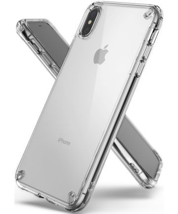 Ringke Fusion Kit Apple iPhone XS Max Transparant Hoesje Transparant