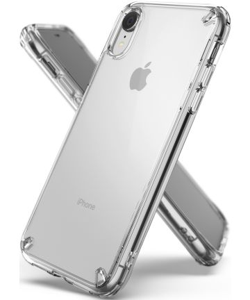 Ringke Fusion Kit Apple iPhone XR Transparant Hoesje Transparant