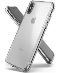 Ringke Fusion Apple iPhone XS Hoesje Transparant