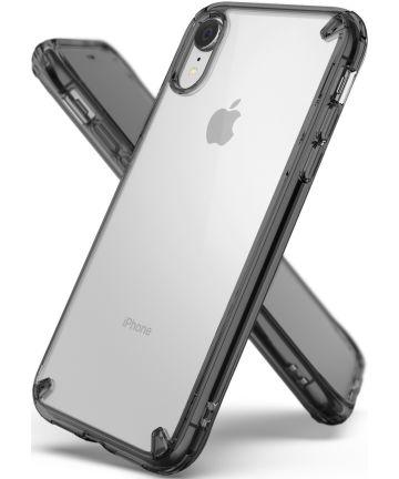 Ringke Fusion Apple iPhone XR Hoesje Smoke Black Hoesjes
