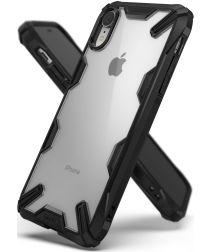Ringke Fusion X Apple iPhone XR Hoesje Doorzichtig Zwart