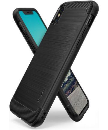 Ringke Onyx Apple iPhone XS Hoesje Black Hoesjes
