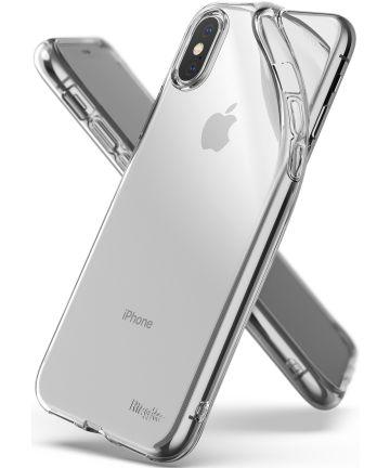 Ringke Air Hoesje Apple iPhone X(S) Transparant Hoesjes