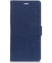 Sony Xperia XA2 Plus Portemonnee Hoesje Blauw