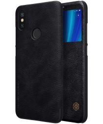 Nillkin Qin Series Flip Hoesje Xiaomi Mi A2 Zwart