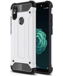 Xiaomi Mi A2 Hybride Hoesje Wit