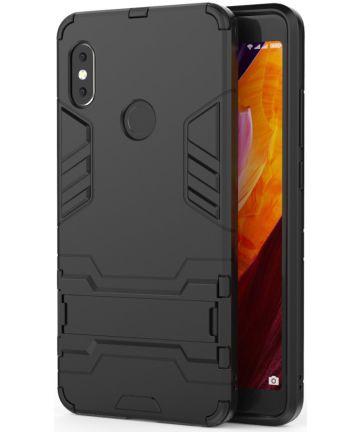 Xiaomi Redmi Note 5 Hybride Hoesje met Standaard Zwart