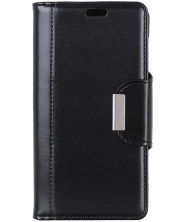 Sony Xperia XZ3 Hoesje met Kaarthouder Zwart
