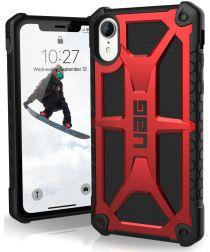 Urban Armor Gear Monarch Hoesje Apple iPhone XR Crimson