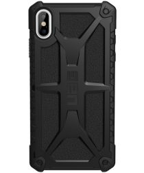 Urban Armor Gear Monarch Hoesje Apple iPhone XS Max Midnight