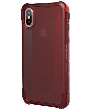 Urban Armor Gear Plyo Hoesje Apple iPhone XR Crimson