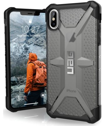 Urban Armor Gear Plasma Hoesje Apple iPhone XS Max Ash