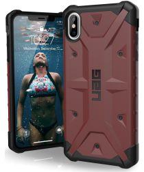 Urban Armor Gear Pathfinder Hoesje Apple iPhone XS Max Carmine