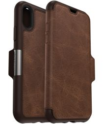 Otterbox Strada Series Apple iPhone XS / X Hoesje Book Case Espresso