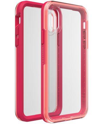 LifeProof SLAM Apple iPhone XS Hoesje Coral Sunset Hoesjes
