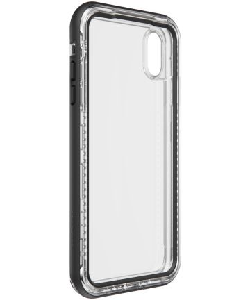 Lifeproof Next Apple iPhone XS Max Hoesje Black Crystal Hoesjes