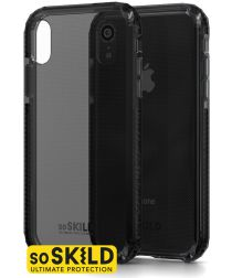 SoSkild iPhone XR Grijs Hoesje Defend Heavy Impact Backcover