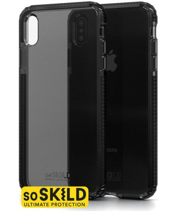 SoSkild iPhone XS Max Grijs Hoesje Defend Heavy Impact Backcover Hoesjes