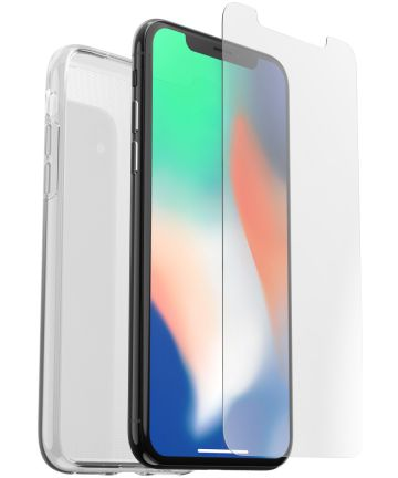 Otterbox Clearly Protected Clear Skin + Alpha Glass Apple iPhone XS
