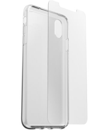 Otterbox Clearly Protected Clear Skin+ Alpha Glass Apple iPhone XS Max Hoesjes