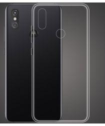 Motorola One Power Hoesje Dun TPU Transparant