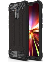 Huawei Mate 20 Lite Hybride Hoesje Zwart