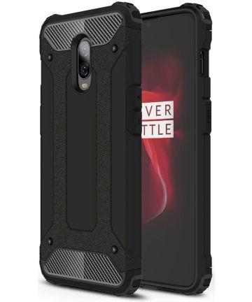 OnePlus 6T Hybride Hoesje Zwart Hoesjes