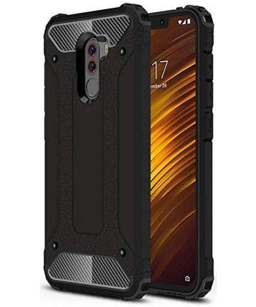 Xiaomi PocoPhone F1 Hybride Hoesje Zwart