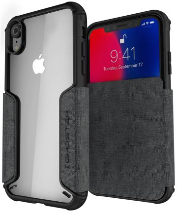Ghostek Exec 3 Apple iPhone XR Zwart Hoesjes