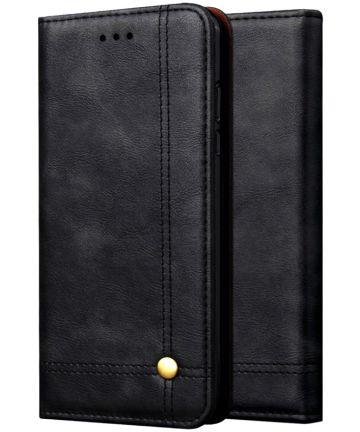 Xiaomi PocoPhone F1 Hoesje met Kaarthouder Zwart Hoesjes