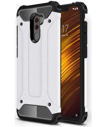 Xiaomi PocoPhone F1 Hybride Hoesje Wit