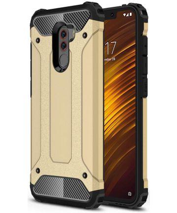 Xiaomi PocoPhone F1 Hybride Hoesje Goud