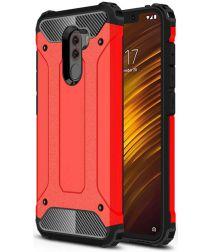 Xiaomi PocoPhone F1 Hybride Hoesje Rood