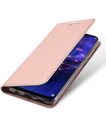 Dux Ducis Huawei Mate 20 Lite Bookcase Hoesje Roze Hoesjes